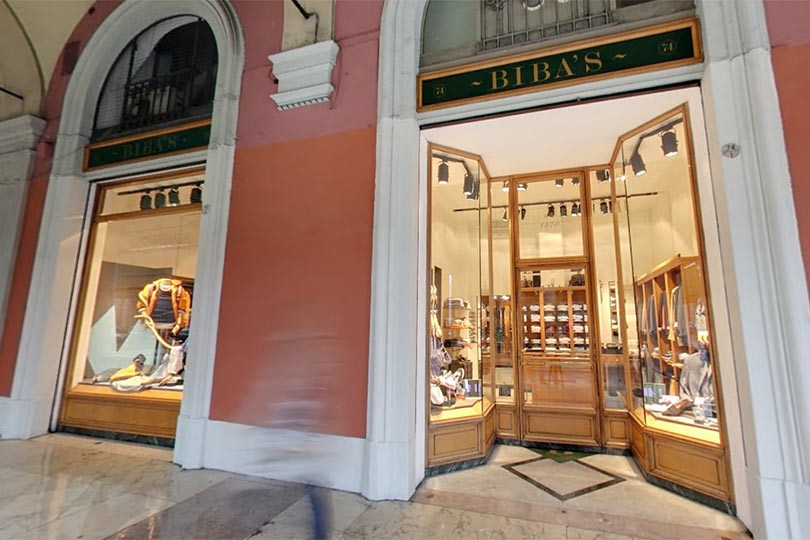 Biba 39 s clothing store in bologna for Boutique bologna