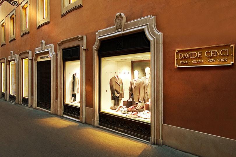 Davide Cenci Roma - Clothing store in Roma  9cebb777f51